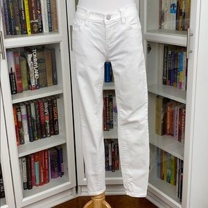 Ann Taylor White The Super Skinny Modern Fit Jeans